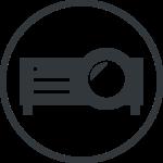 プロジェクターのアイコン画像