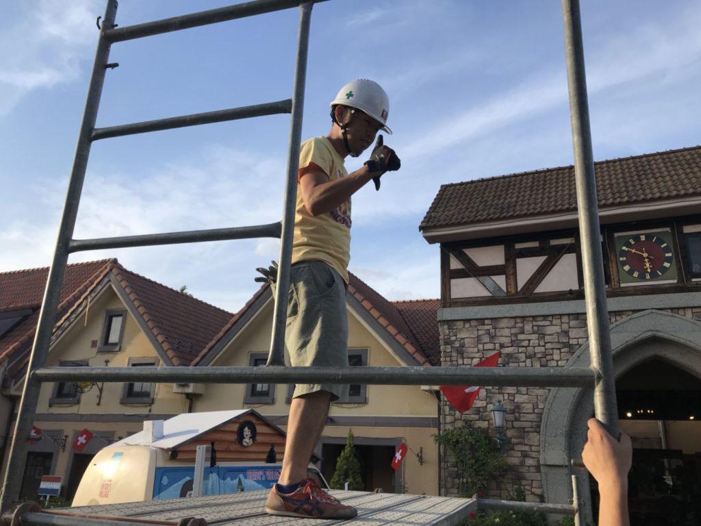 ハイジの村 プロジェクションマッピング施工実績画像16