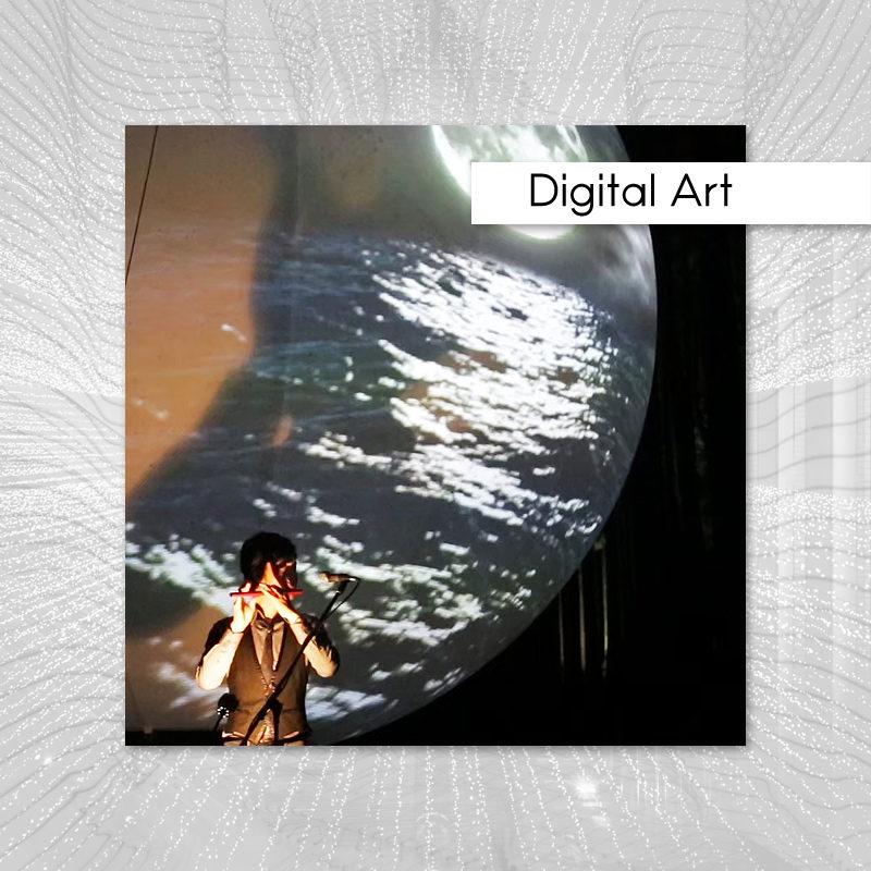 身延山のデジタルアートイベント施工実績記事のアイキャッチ画像
