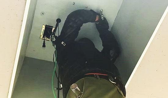 各種施工、電気工事の施工中の画像1