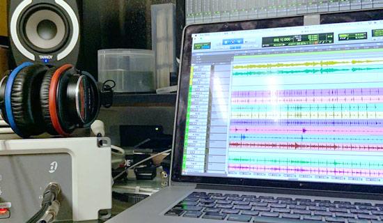 音楽制作、レコーディングのイメージ画像1