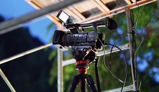 動画撮影の施工実績