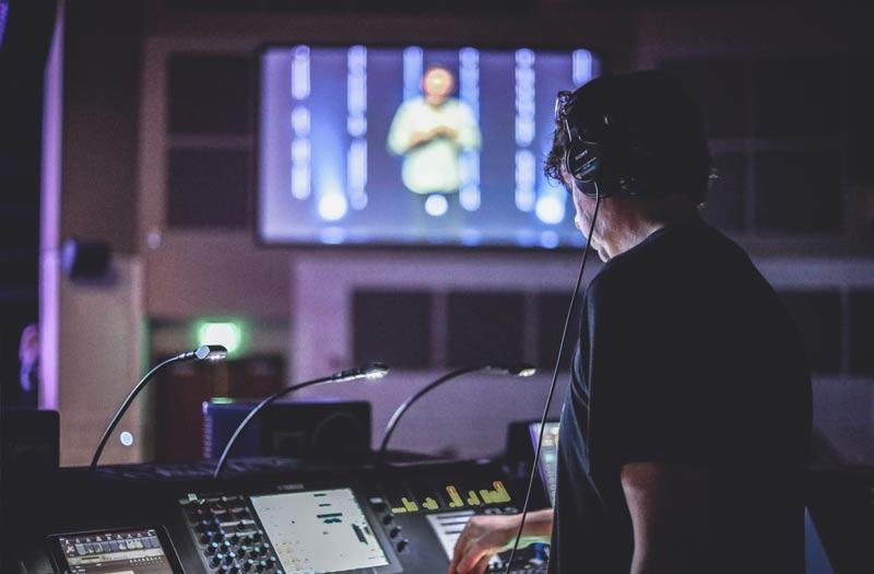 ライブストリーミングスタジオのイメージ画像