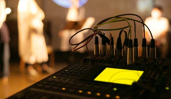 ライブストリーミング音響機材画像