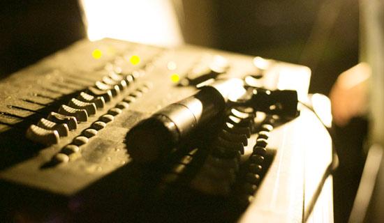 ライブストリーミング照明機材画像